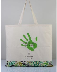 Promotional Tote Bag With Gusset 48x41x10