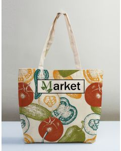 Grocery Shopping Promotional Tote Bags With Logo