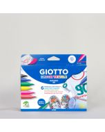 Giotto Decor Tekstil Kalemi 6 'lı